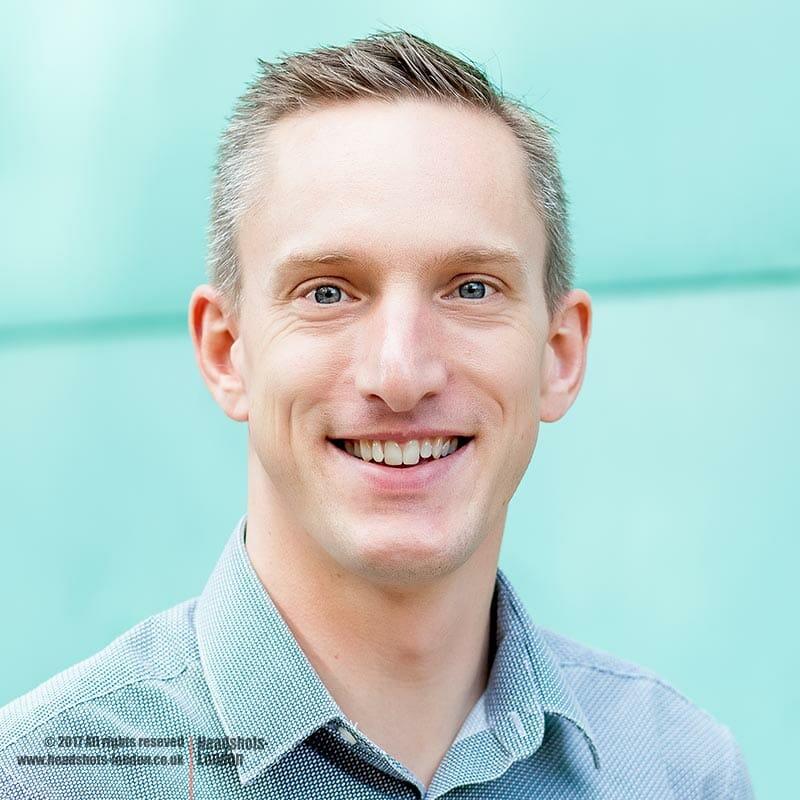 Corporate Headshots for Mr. Adam Wylde Head of Technology. Zest Technology Ltd.